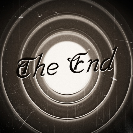 the end Movie ending screen images Stock Photo - 22494886