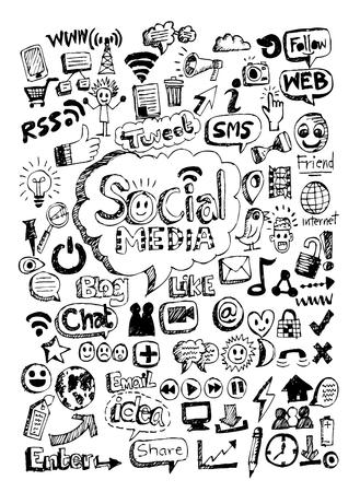 Hand drawn illustration idea Vector