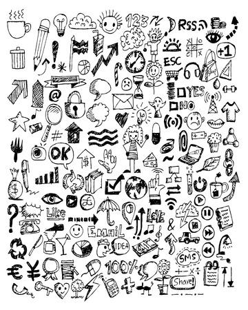 Hand drawn illustration idea