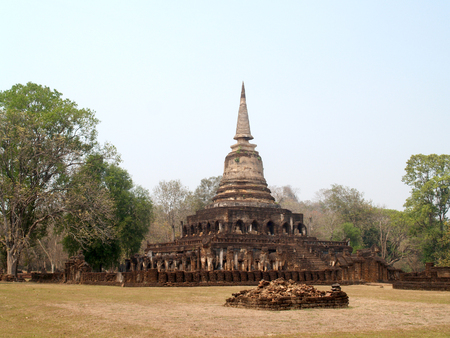 Sukhothai historical park, the old town of Thailand          photo