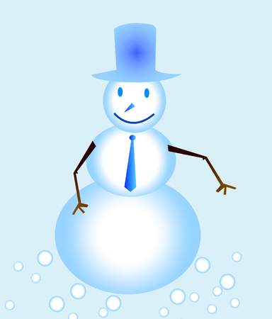 green tophat: Snow Man