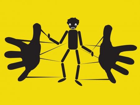 vector illustration, puppet theater Stock Vector - 23261658
