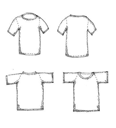 zipper hooded sweatshirt: Apparel shirts template t-shirt templates Illustration