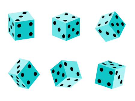 ame dice set  Vector