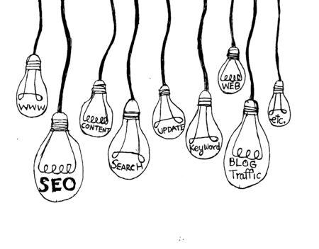 Seo Idea SEO Search Engine Optimization Stock Vector - 23170174