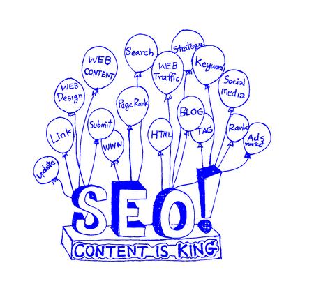 Seo Idea SEO Search Engine Optimization Stock Vector - 23170181