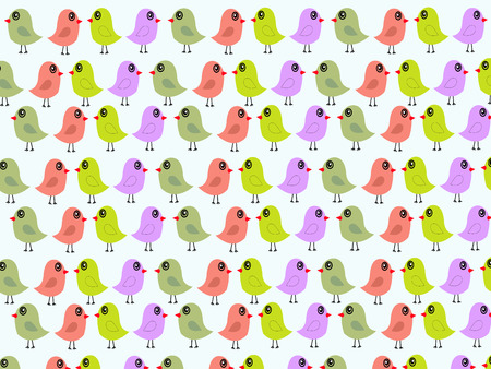 Birds Abstract Vector