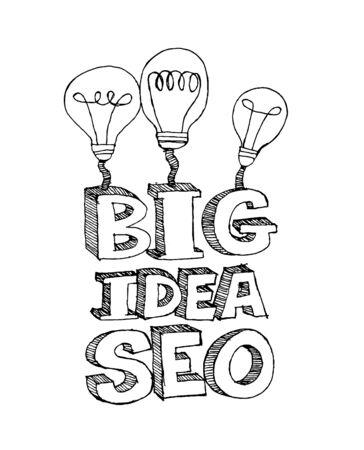 Seo Idea SEO Search Engine Optimization Stock Vector - 23170228