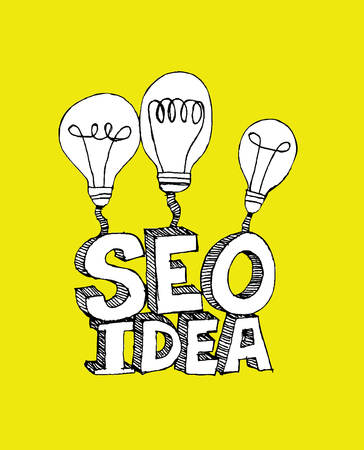 Seo Idea SEO Search Engine Optimization  Stock Vector - 23170233