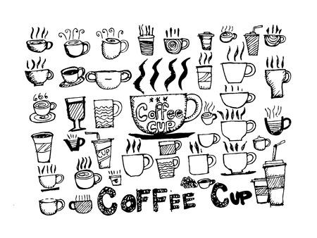 コーヒーカップ: コーヒー カップ セット手図面