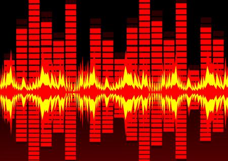 Sound waves Vector