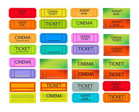 admit: cinema admit one Tickets