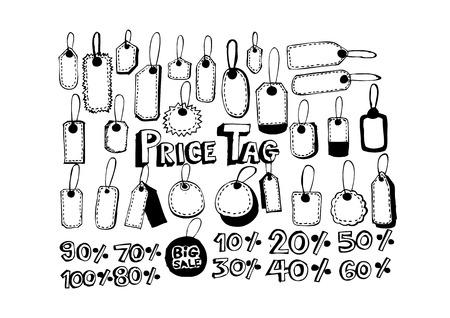 Price Tag Set Vector