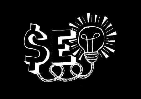 Seo Idea SEO Search Engine Optimization  Stock Vector - 24464479