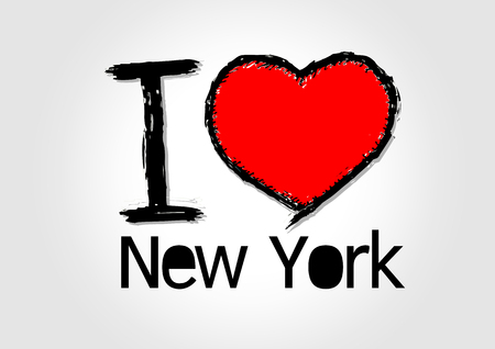 I Love new york  Vector