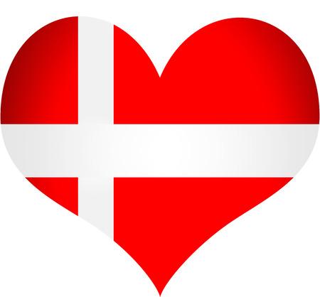 danish flag: Denmark Flag Illustration