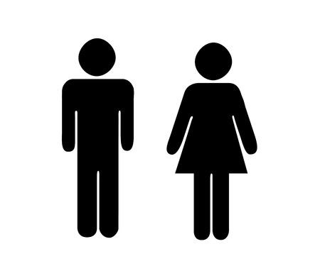 pictogrammes gens Man Icône de symbole pictogramme Vecteurs