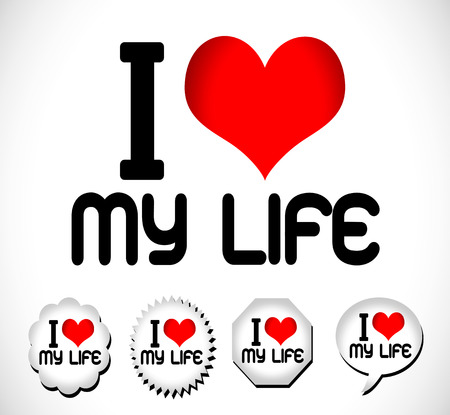 sufficient:   i love my life