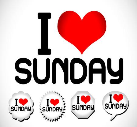 week end: Amo los D�as de la semana Domingo, Lunes, Martes, Mi�rcoles, Jueves, Viernes, S�bado