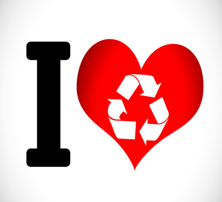 recycle area: I Love to Recycle