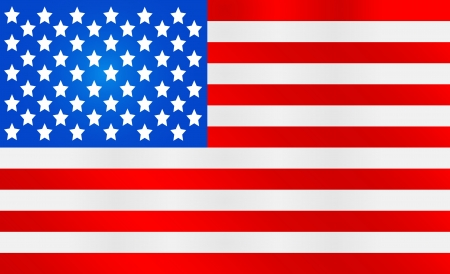 American Flag idea Vector illustration