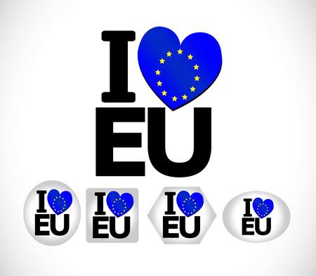 europa: EU flag European union flag idea design
