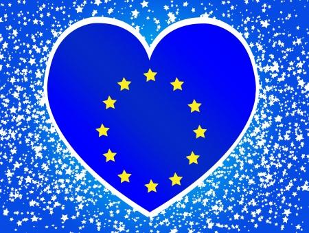 bruxelles: EU flag European union flag idea design