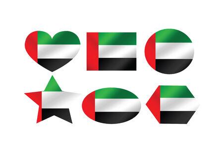 emirates: the United Arab Emirates flag themes