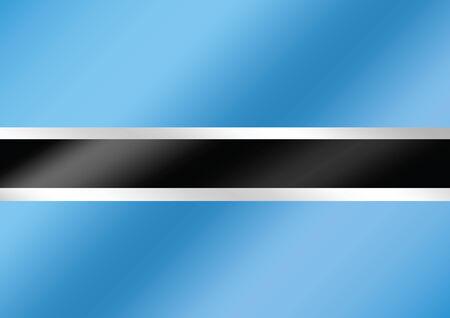 botswana: Botswana flag themes idea design