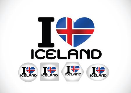 flag of iceland: bandera de islandia