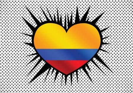 flagged: Colombia flag themes idea design