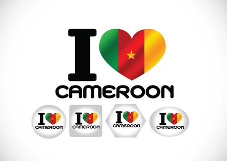 cameroon: Cameroon flag themes idea design