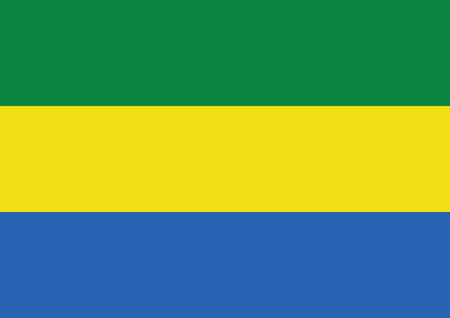 gabon: flag of Gabon themes idea design