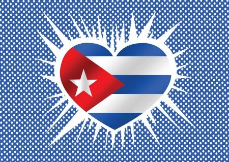 cuban flag: Cuba flag themes idea design