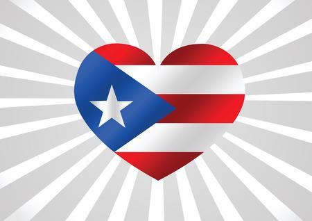 puerto rico: Puerto Rico flag themes idea design