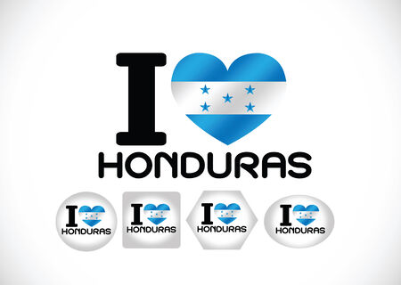 honduras: Honduras flag themes idea design