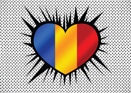 chad: chad flag themes idea Illustration