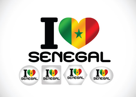 senegal flag themes idea