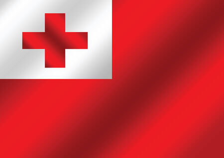 tonga: Tonga flag  themes idea design  Illustration
