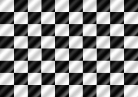 cuadros blanco y negro: Banderas de la raza bandera a cuadros