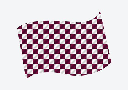 crossed checkered flags: Racing flags Background checkered flag themes idea design Illustration