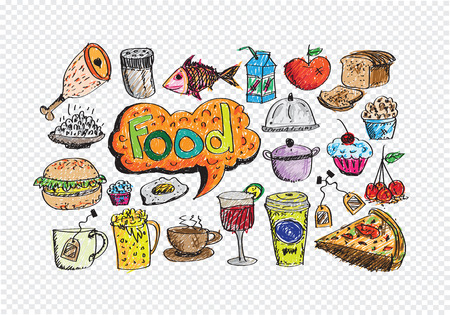 Food Icons Vector set Vector