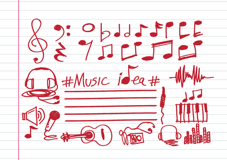 eight note: Music Notes and Music icons