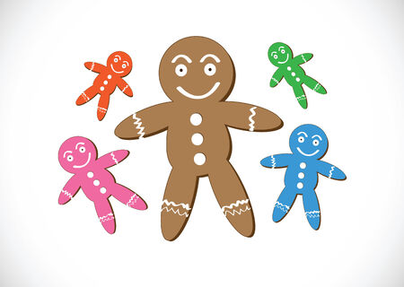 christmas cookie: Christmas cookies Gingerbread cookie Illustration