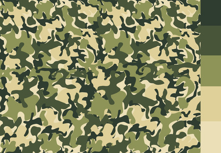 camouflage pattern: Camouflage pattern design Illustration
