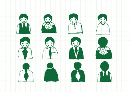 Business Man Icon  People Icons Stock Vector - 27985128