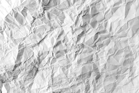 wastrel: crumpled paper