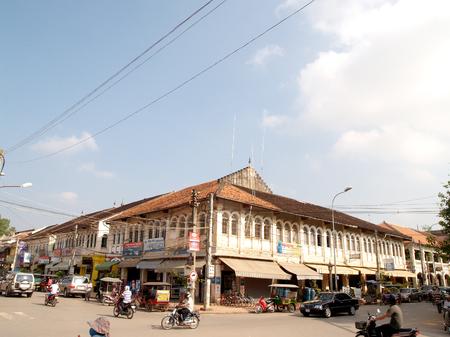 Siem Reap market Cambodia