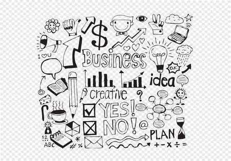 hand doodle Business doodles