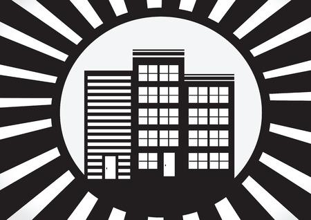 simplus: Inicio icono y Concepto de bienes ra�ces Vectores